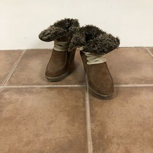 Mossimo Supply Co. Shoes - Mossimo Supply Co. Fur Lined Boots